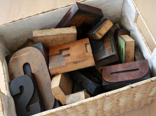 Lettersinbasket